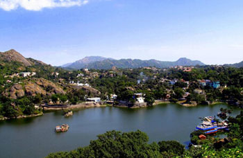 Mountabu- The Lake and Hills
